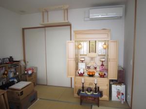 ひのき材3尺タイプ「開き戸」板戸